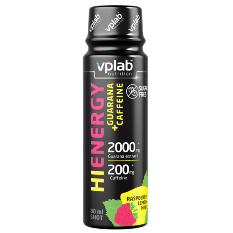 VPLab Nutrition HiEnergy Guarana + Caffeine Shot 80 ml
