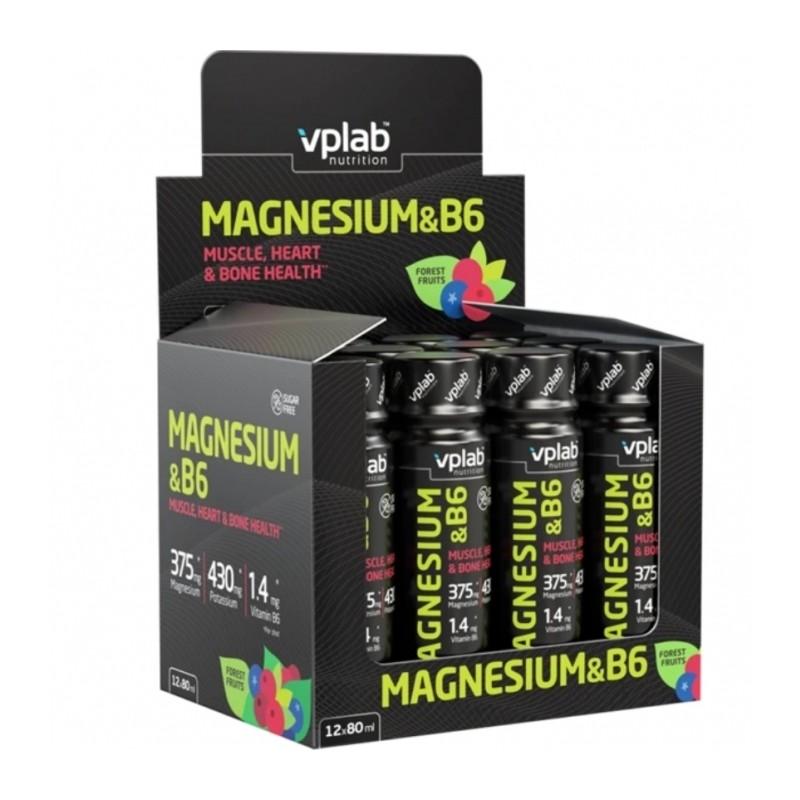 Magnesium & B6 Shot 80 ml Magneesium foto