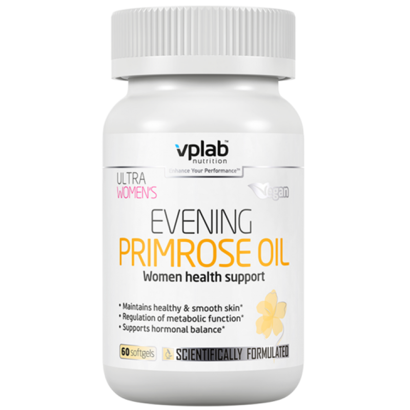 VPLab Nutrition Ultra Women's Evening Primrose Oil 60 caps