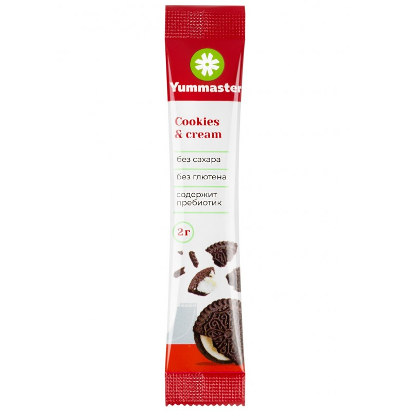 Yummaster Naturaalne suhkruasendaja -Cookies & Cream- 20 Paks foto