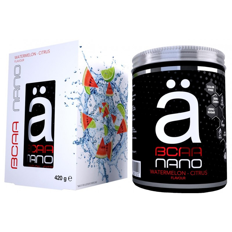 Ä Nano supps BCAA 420g