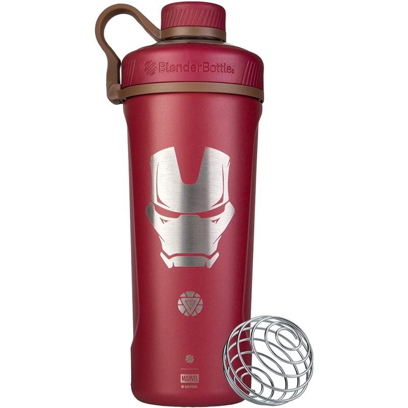 Blender Bottle Marvel® - Radian™ Insulated Stainless Steel 770 ml Iron Man