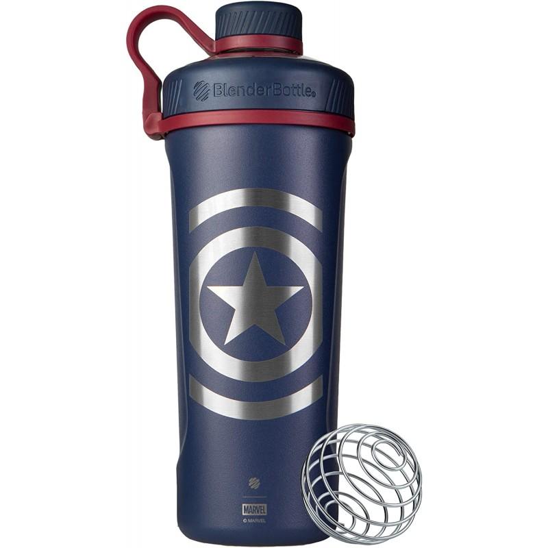 Blender Bottle Marvel® - Radian™ Insulated Stainless Steel 770 ml Captain America