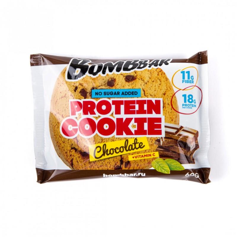 Proteiiniküpsis 60g, šokolaad Proteiiniküpsised foto