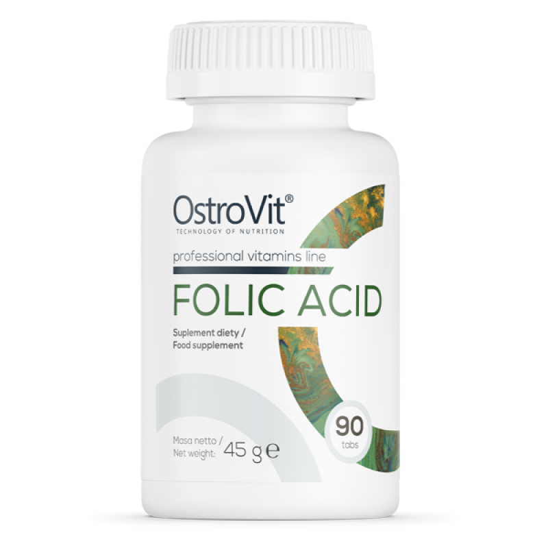 Folic Acid 90 tabs