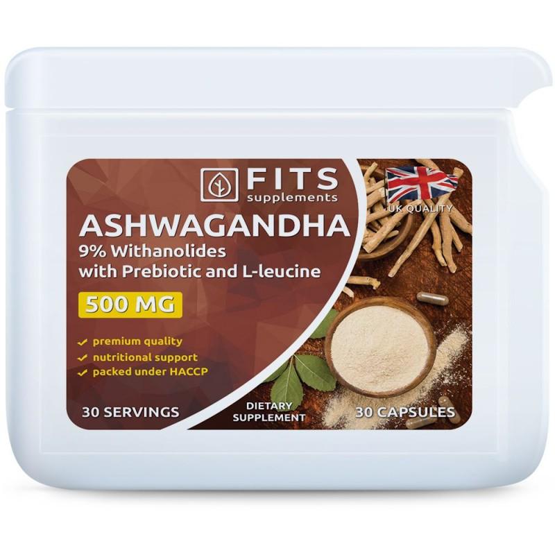 FITS Ashwagandha 500 mg kapslid