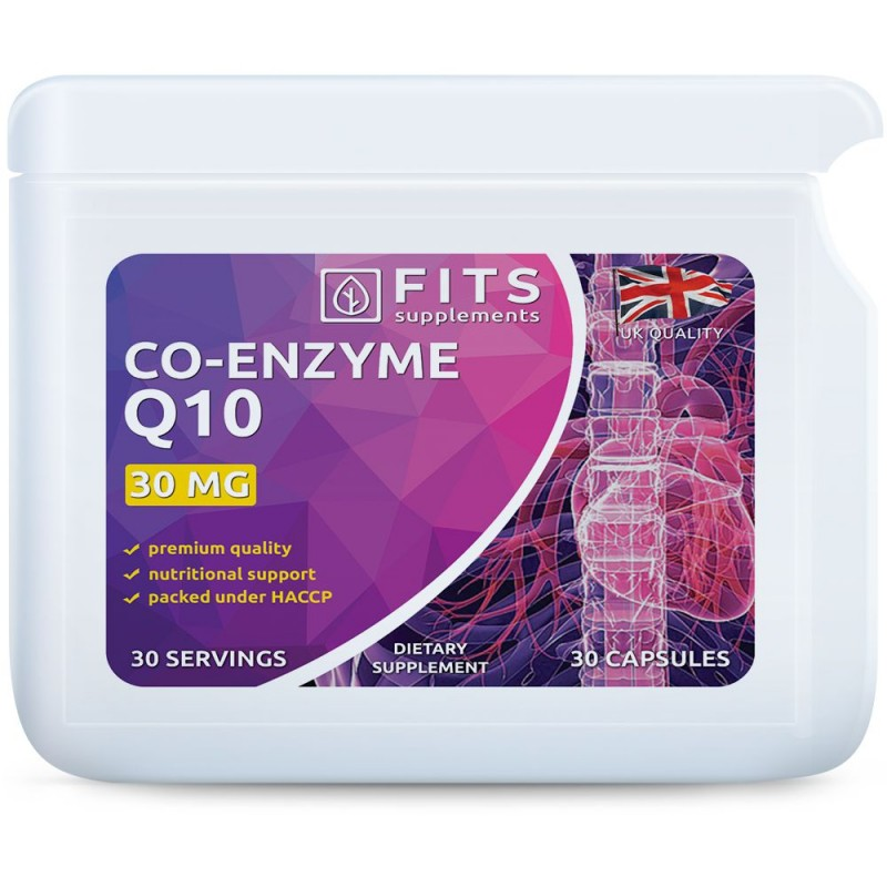 FITS Koensüüm Q10 30 mg kapslid
