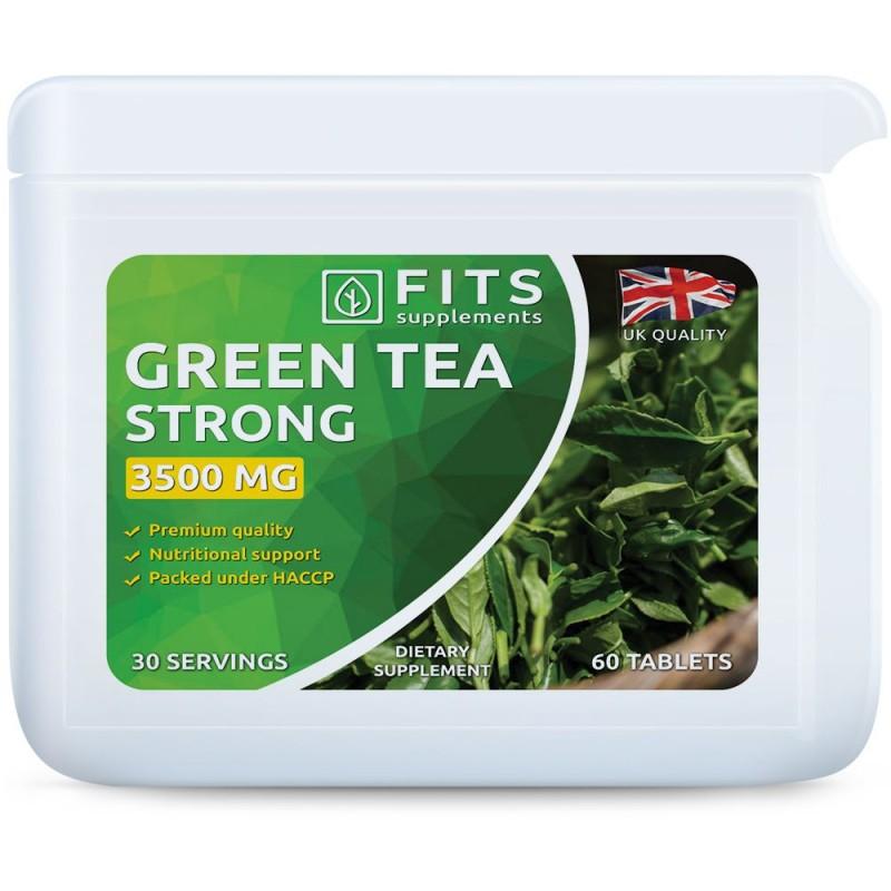 FITS Rohelise tee ekstrakt 3500 mg tabletid