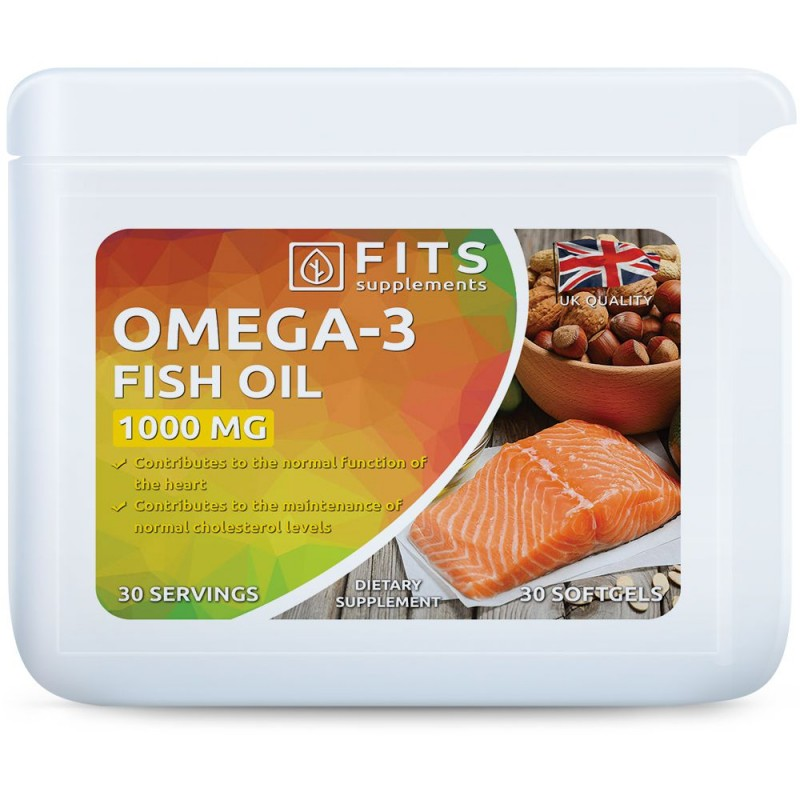 FITS Omega-3 1000 mg kapslid