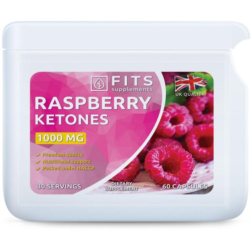 Vaarika ketoonid 1000 mg kapslid