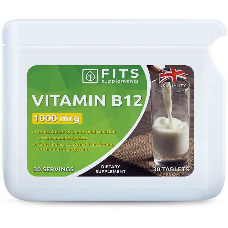 B12-Vitamiin 1000 mcg tabletid