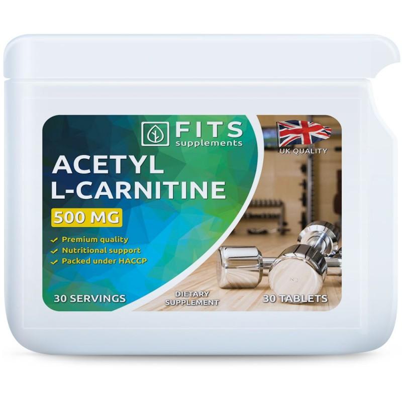 FITS Atsetüül-L-Karnitiin 500 mg tabletid