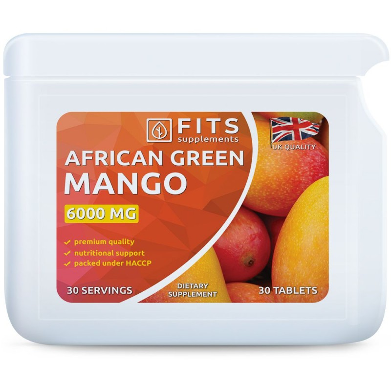 African Green Mango 6000mg tablets