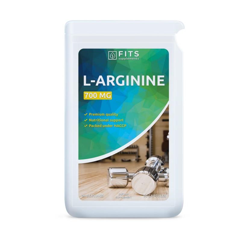 FITS L-Arginiin 500 mg kapslid