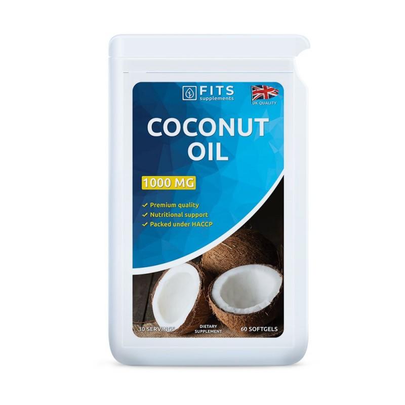 Kookoseõli 1000 mg kapslid
