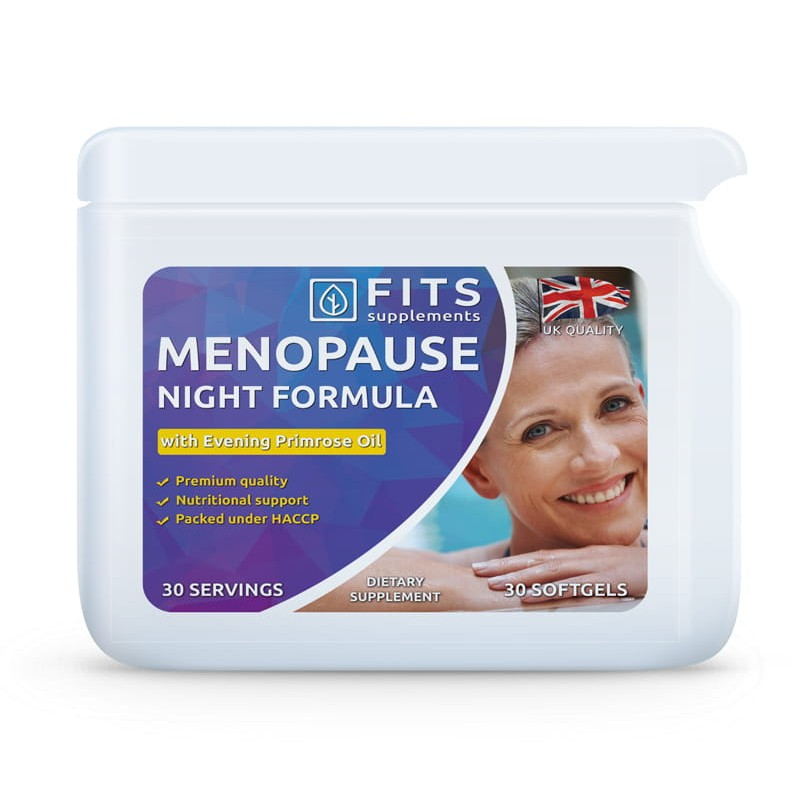 FITS Menopause Night Formula kapslid