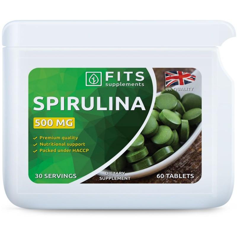 Spirulina 500 mg tabletid