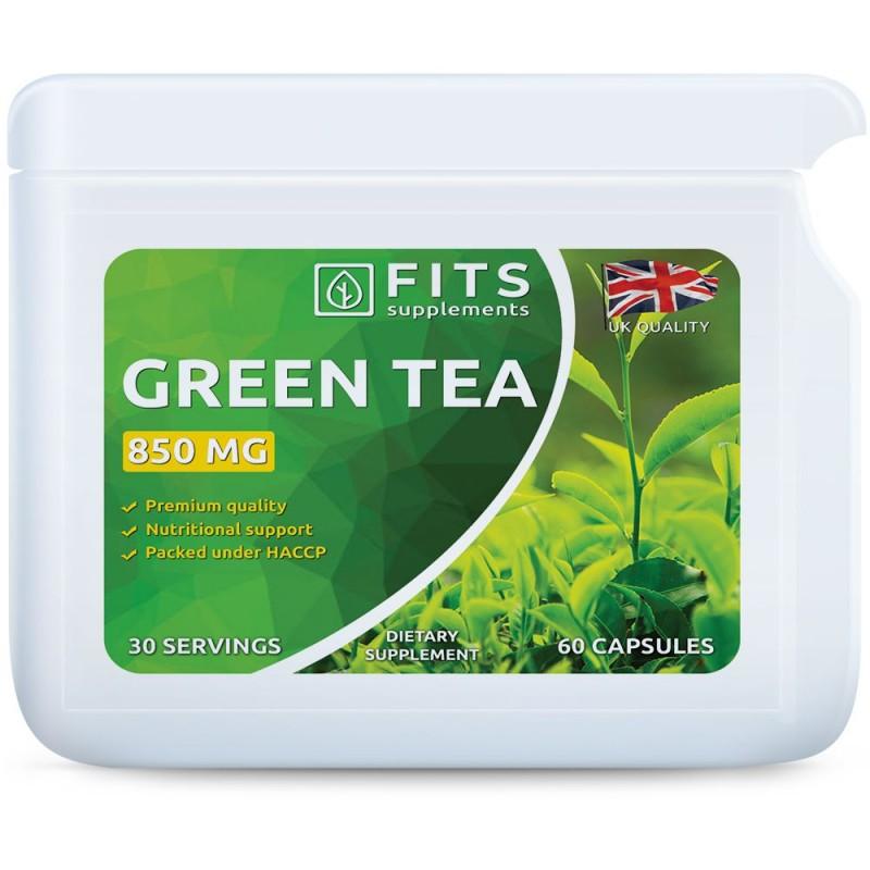 Rohelise tee ekstrakt 850 mg kapslid