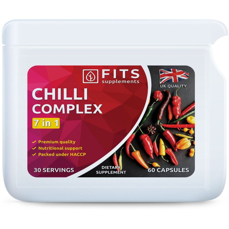 FITS Chilli Complex 7 in 1 kapslid foto