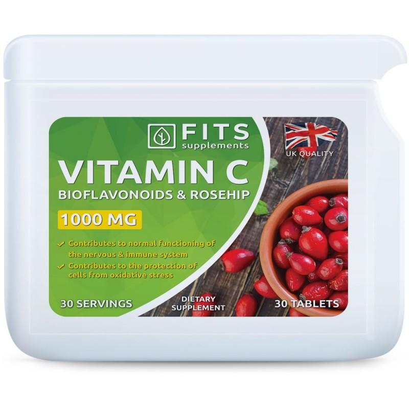 C-Vitamiin 1000 mg + Kibuvits + Bioflavonoidid tabletid