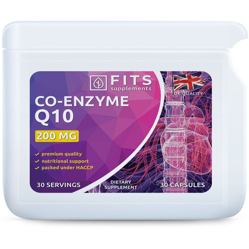 FITS Koensüüm Q10 200 mg kapslid
