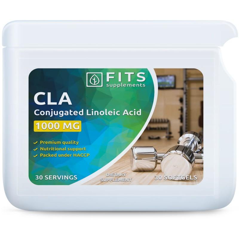 FITS CLA linoolhappe 1500 mg kapslid