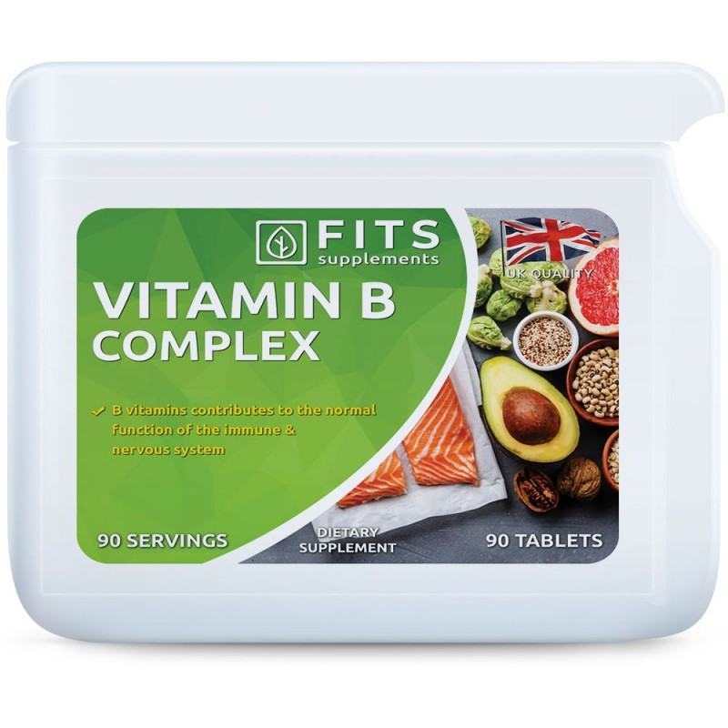 B-Vitamiini kompleks tabletid N90