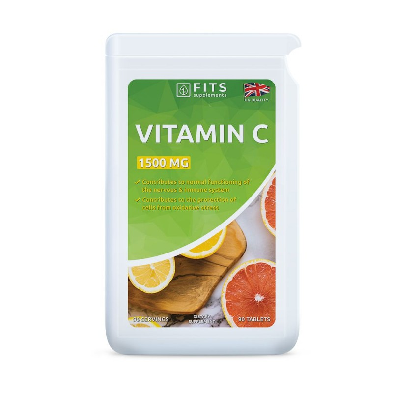 FITS C-Vitamiin 1500 mg tabletid N90