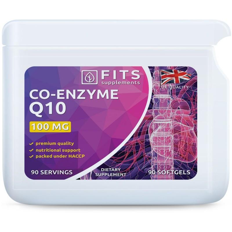 FITS Koensüüm Q10 100 mg kapslid N90