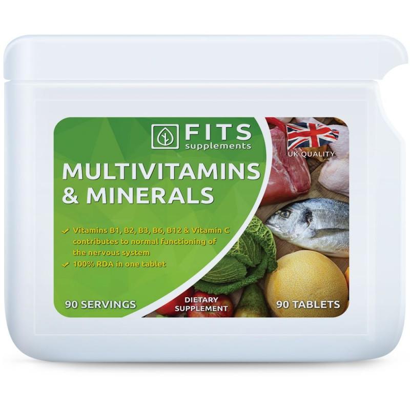 FITS Multivitamiinide ja mineraalide kompleks N90