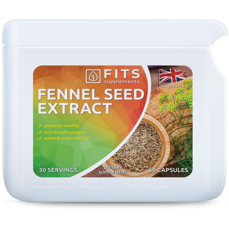 FITS Fennel Seed Extract  (Apteegitill) 480 mg kapslid