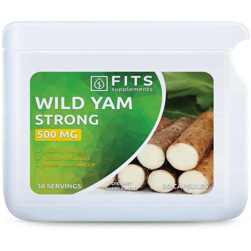 FITS Mexican Wild Yam (Mehhiko metsik jamss) 500 mg tabletid