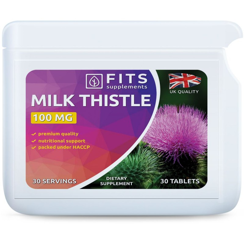 Milk Thistle (Maarjaohakas) 100 mg tabletid