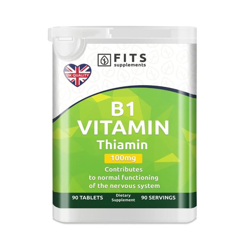 FITS B1-Vitamiin 100 mg (Tiamiin) tabletid