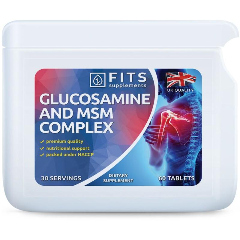 FITS Glükoosamiin ja MSM tabletid