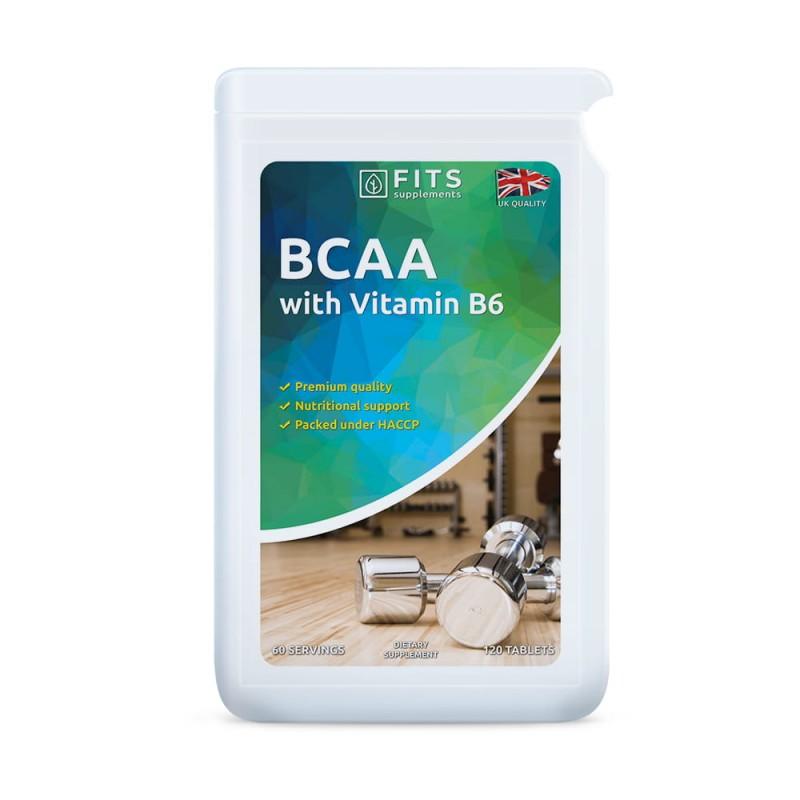 BCAA Plus aminohapped B6-vitamiiniga tabletid