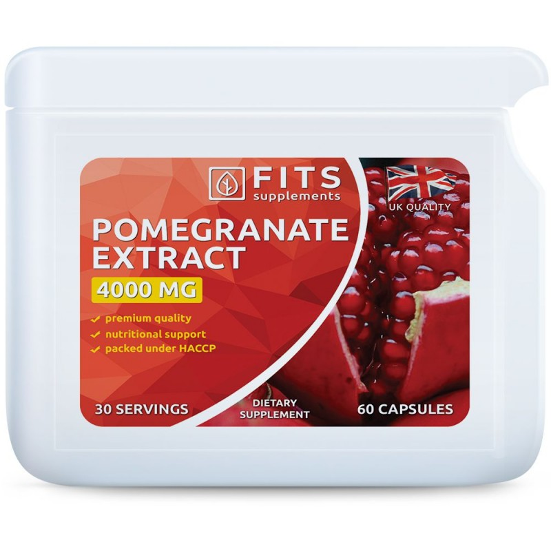 Granaatõuna ekstrakt 4000 mg kapslid