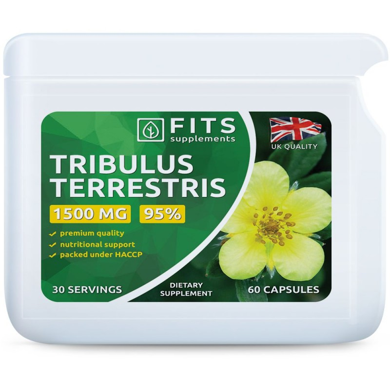 FITS Tribulus Terrestris 95% 1500 mg kapslid