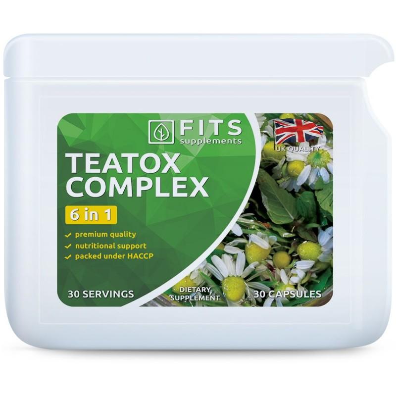 FITS Teatox Complex kapslid