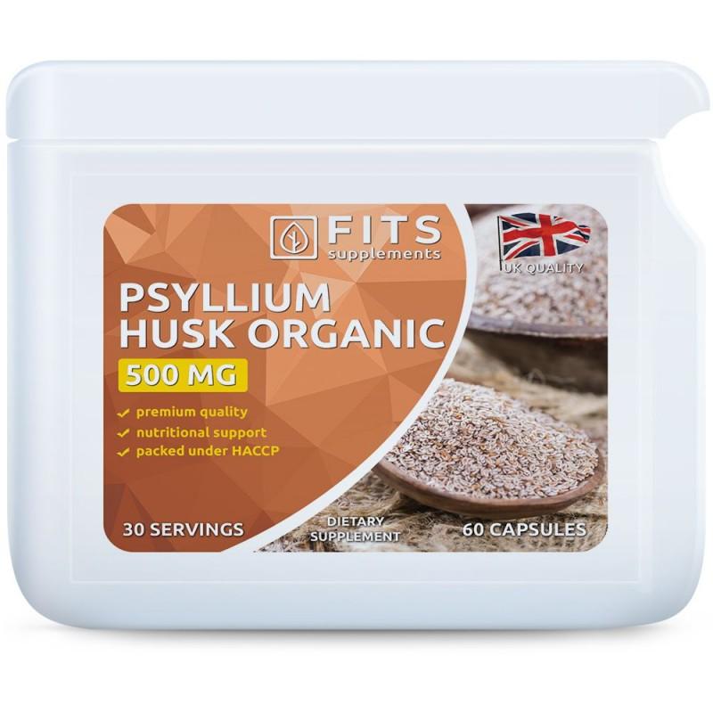FITS Psülliumi 500 mg kapslid
