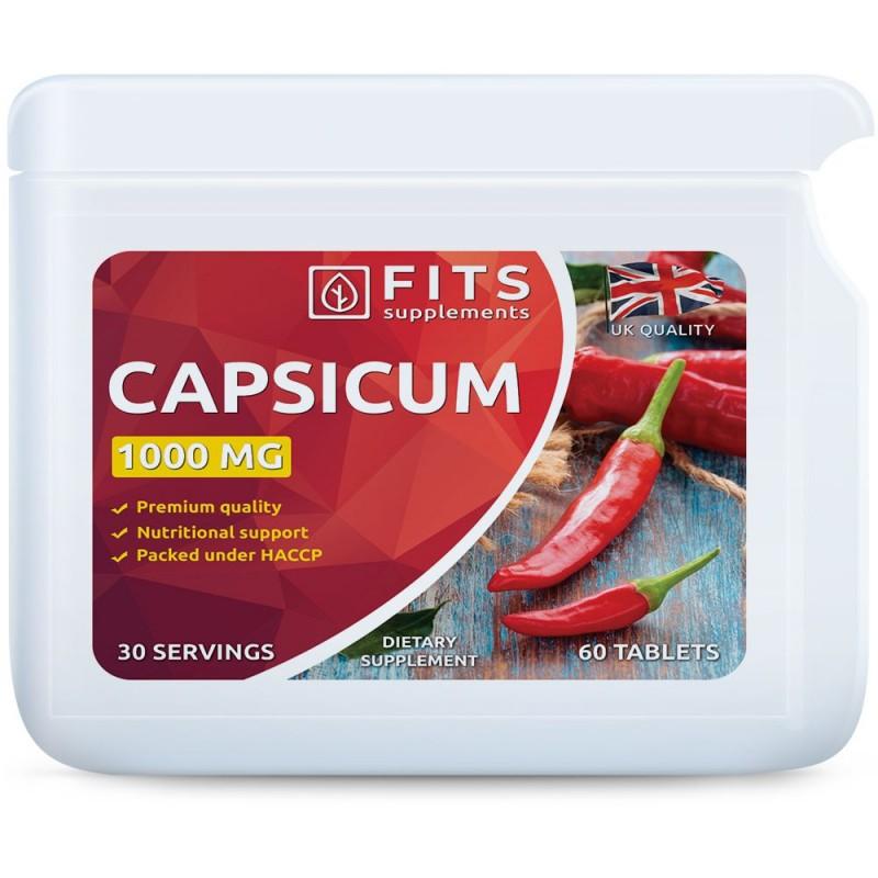 FITS Kajenni pipar 1000 mg tabletid