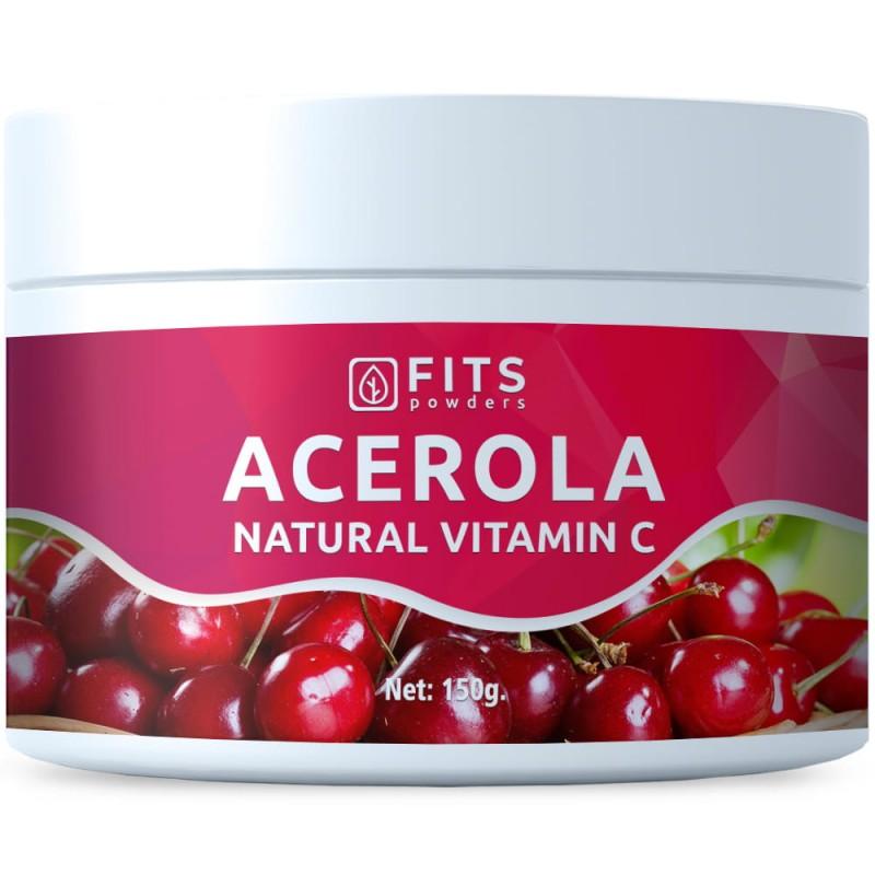 FITS Atseroola 100% naturaalne C-Vitamiin 150 g pulber