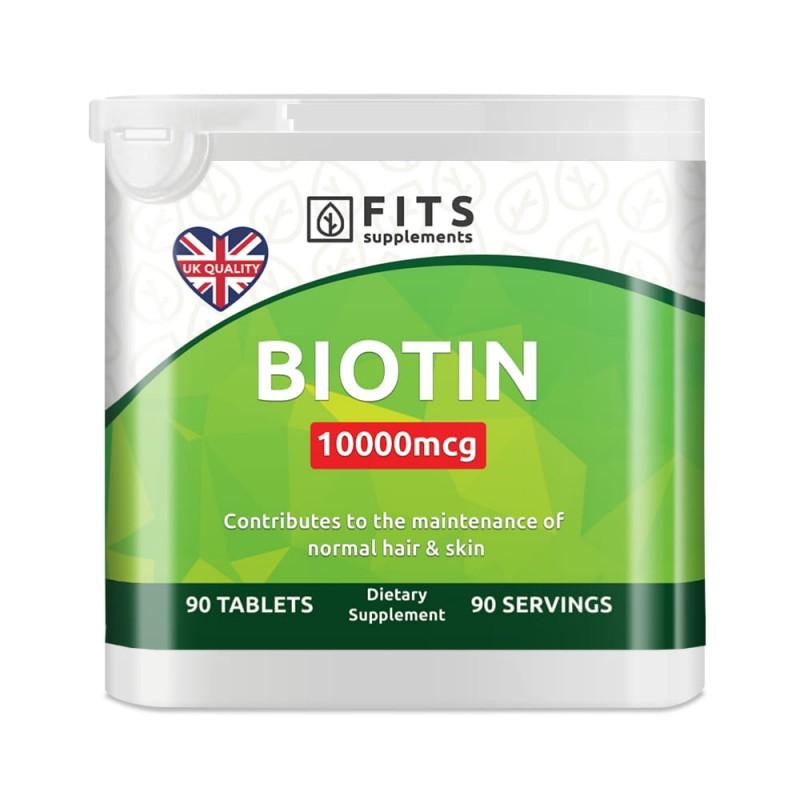 FITS Biotiin 10000 mcg tabletid