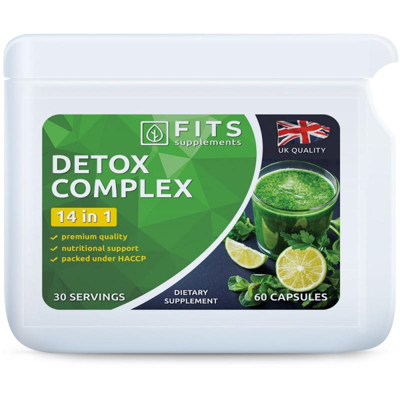 FITS Detox Complex 14 in 1 kapslid