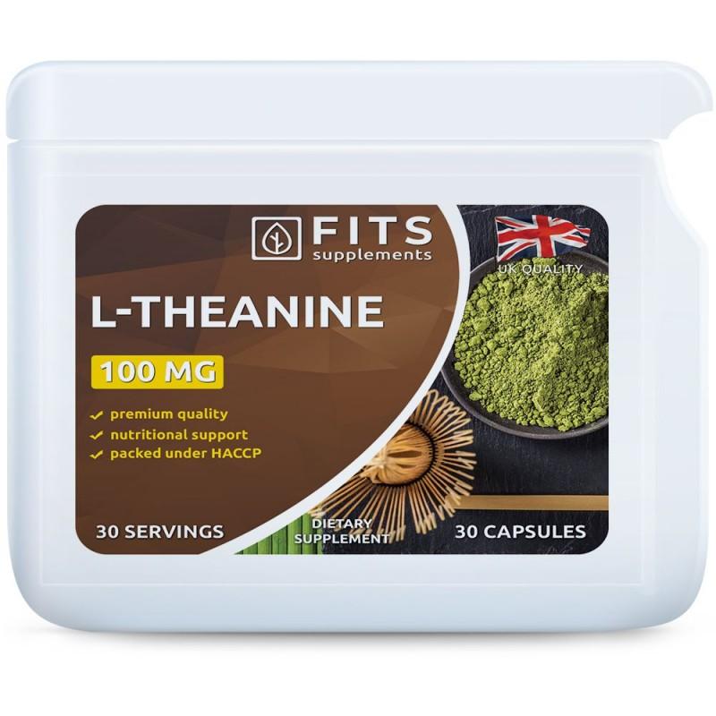 FITS L-Teaniin 100 mg kapslid