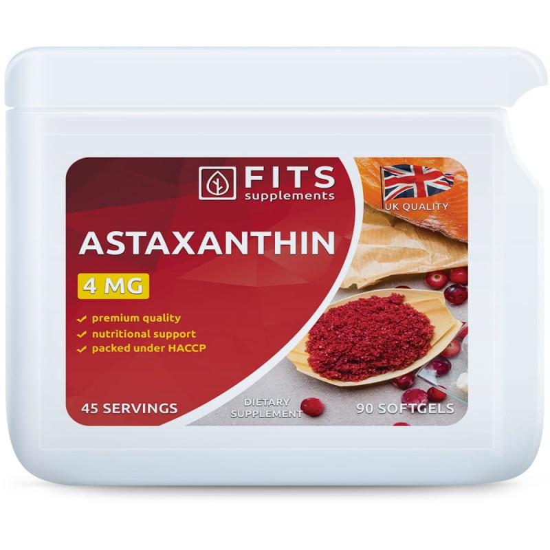 FITS Astaksantiin 4 mg geelkapslid