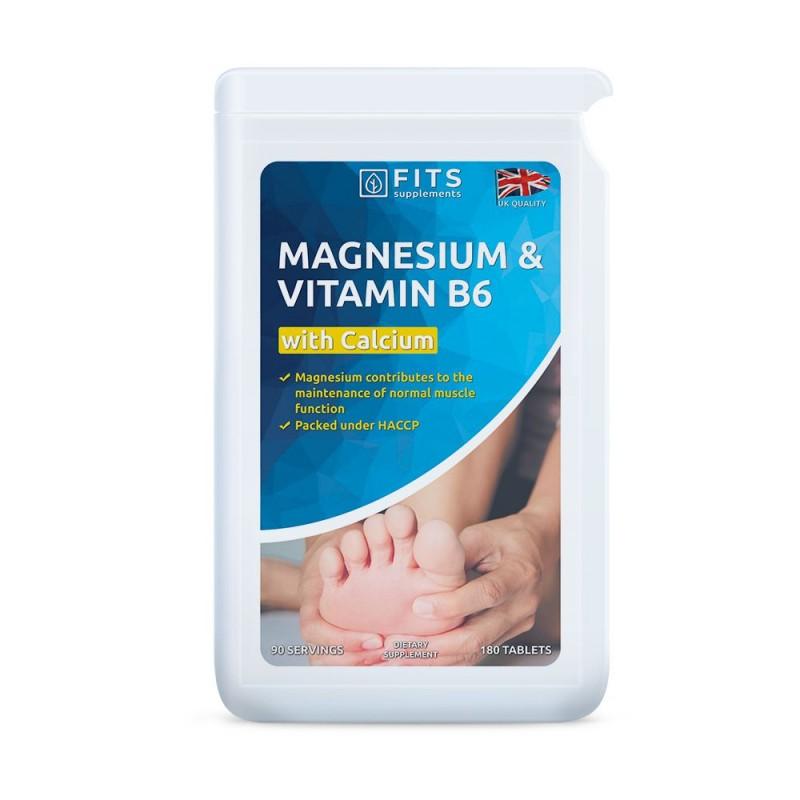 FITS Magneesium B6-vitamiin tabletid N180