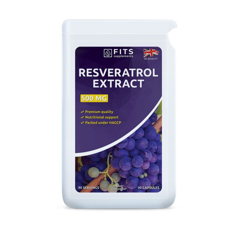 FITS Resveratrool 50 mg kapslid N90