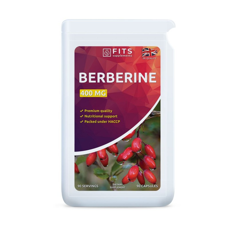 FITS Berberiin 400 mg kapslid N90