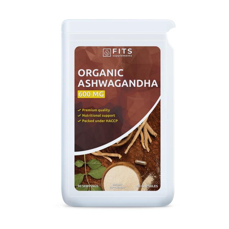 FITS Ashwagandha ekstrakt 500 mg kapslid N90